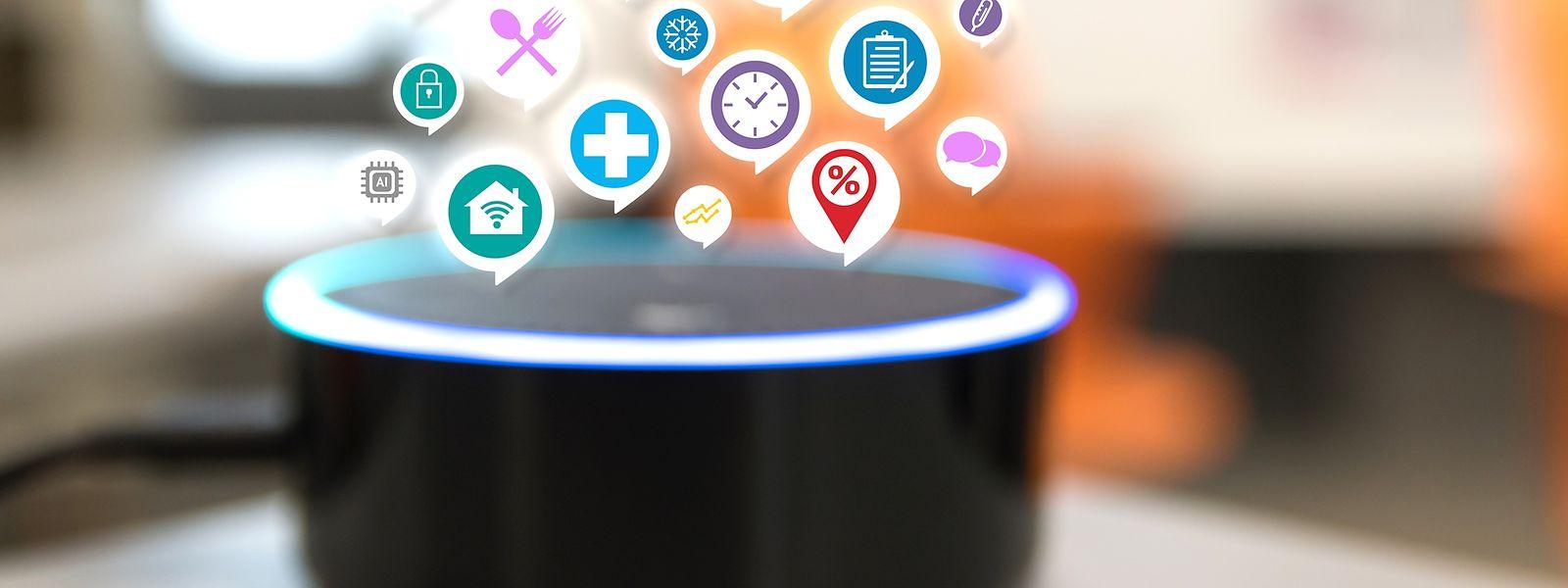 Sprachassistenten leiten Informationen an Unternehmen wie Google und Amazon weiter.
