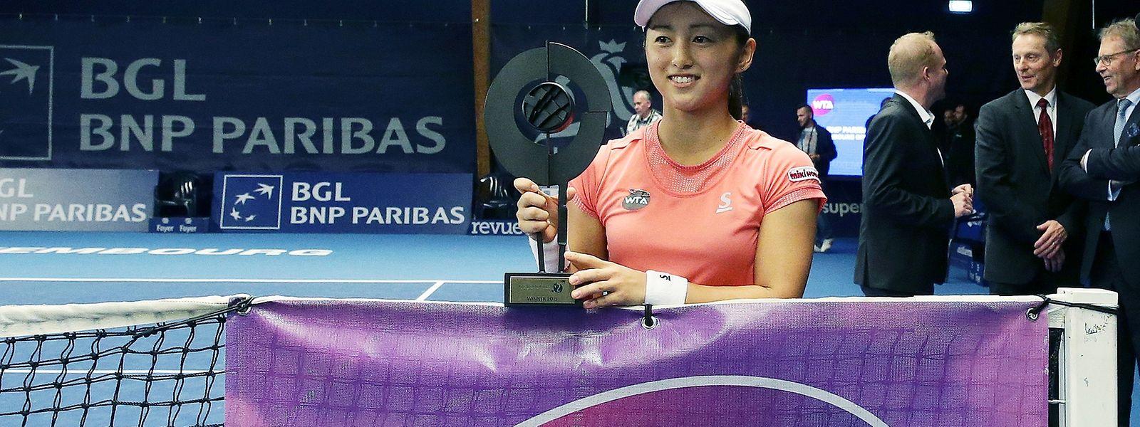 Misaki Doi sicherte sich im vergangenen Jahr den Sieg in Kockelscheuer.