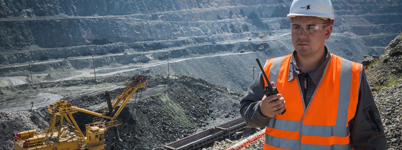 """Die kasachisch-luxemburgische """"Eurasian Resources Group"""" betreibt Minen und Werke in 15 Ländern."""