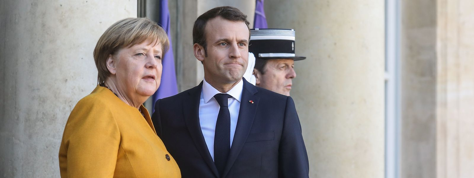 Das Tandem Merkel-Macron treten schon lange nicht mehr gemeinsam in die Pedale.