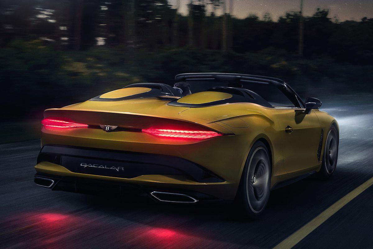 Vom Bacalar will Bentley nur 12 Stück bauen.