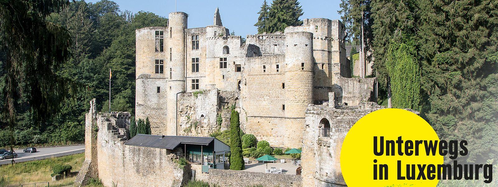 Die Ruinen der mittelalterlichen Burg können täglich besucht werden.