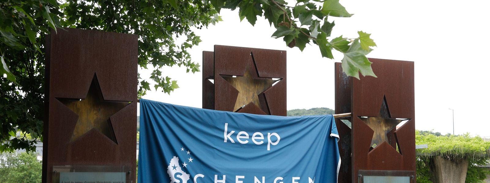 Keep Schengen alive - behaltet Schengen am Leben: Die Botschaft ist in Corona-Zeiten aktueller denn je.