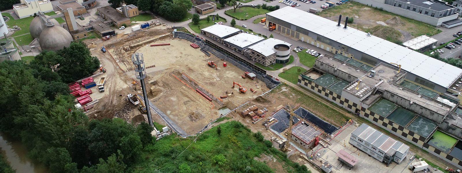 Die erste Phase des Ausbaus hat begonnen und soll 2023 beendet sein.
