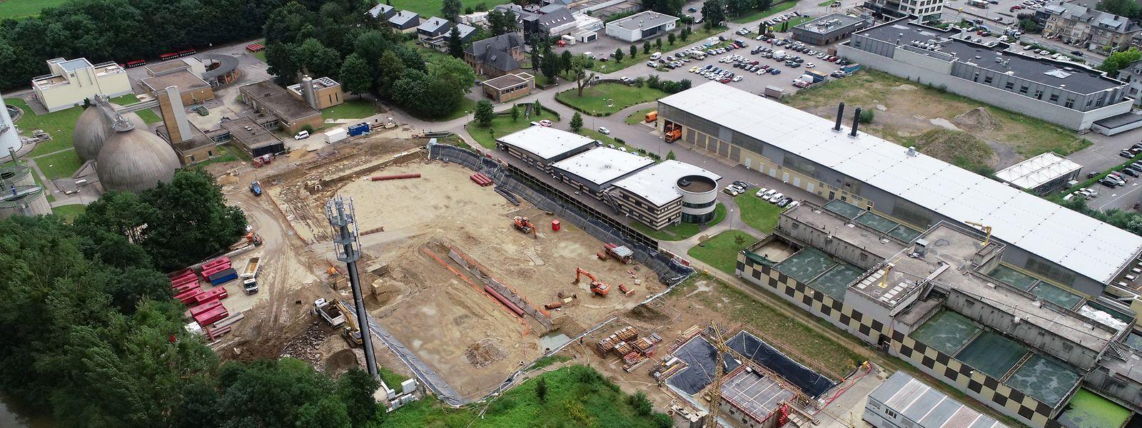 Le site de Bereldange va totalement changer d'allure d'ici 2030.