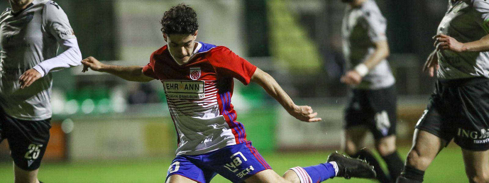 18 Jahre, talentiert und torgefährlich: Lucas Correia.