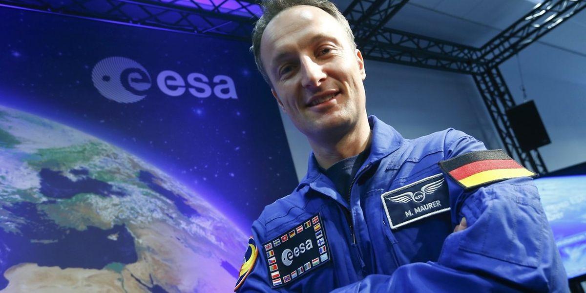 Matthias Maurer freut sich auf seine erste Fahrt ins Weltall.