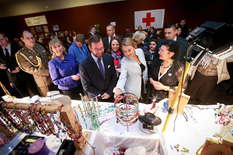 Novembre 2015: visite au bazar de la Croix-Rouge au Limpertsberg