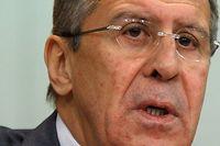 Der russische Außenminister Sergej Lawrov.