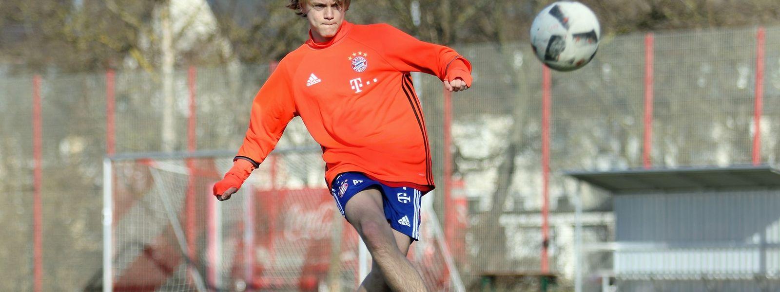 Ryan Johansson überzeugte bei den Trainings in München.