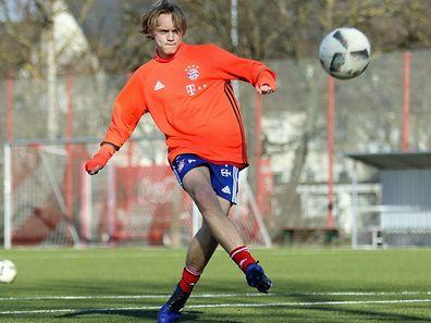 Ryan Johansson training in Munich.