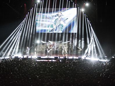 Nickelback at the Rockhal