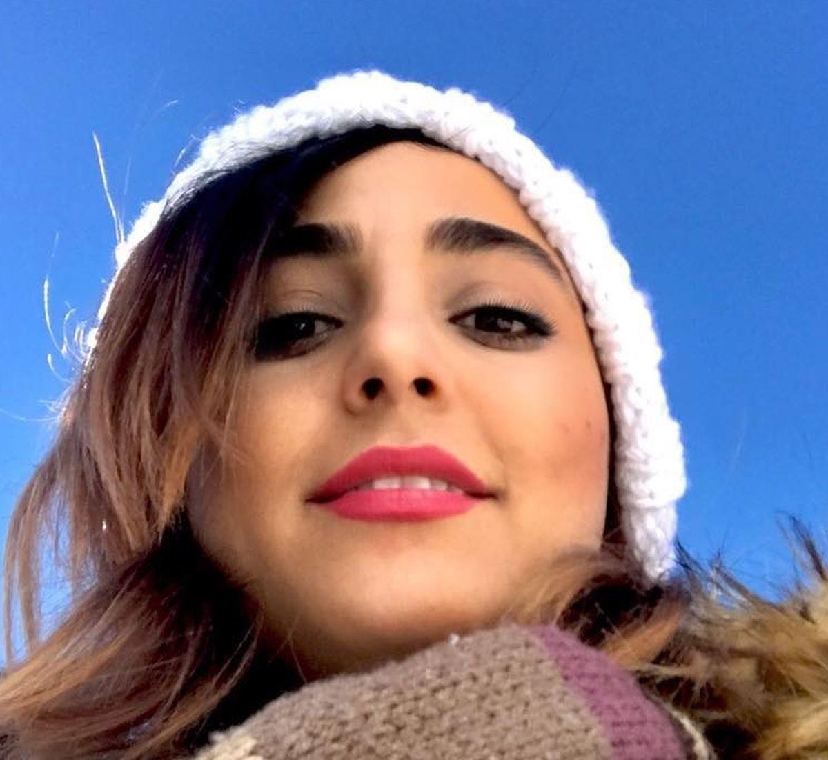 A jovem iraniana Sahar.
