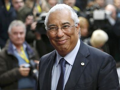 Portugal's Prime Minister Antonio Costa arrives at a European Union leaders summit in Brussels December 17, 2015. EU leaders are due to discuss migrants crises and David Cameron's demands for reform of the bloc ahead of a referendum he plans to hold by the end of 2017 on Britain's continued memebership.  REUTERS/Francois Lenoir