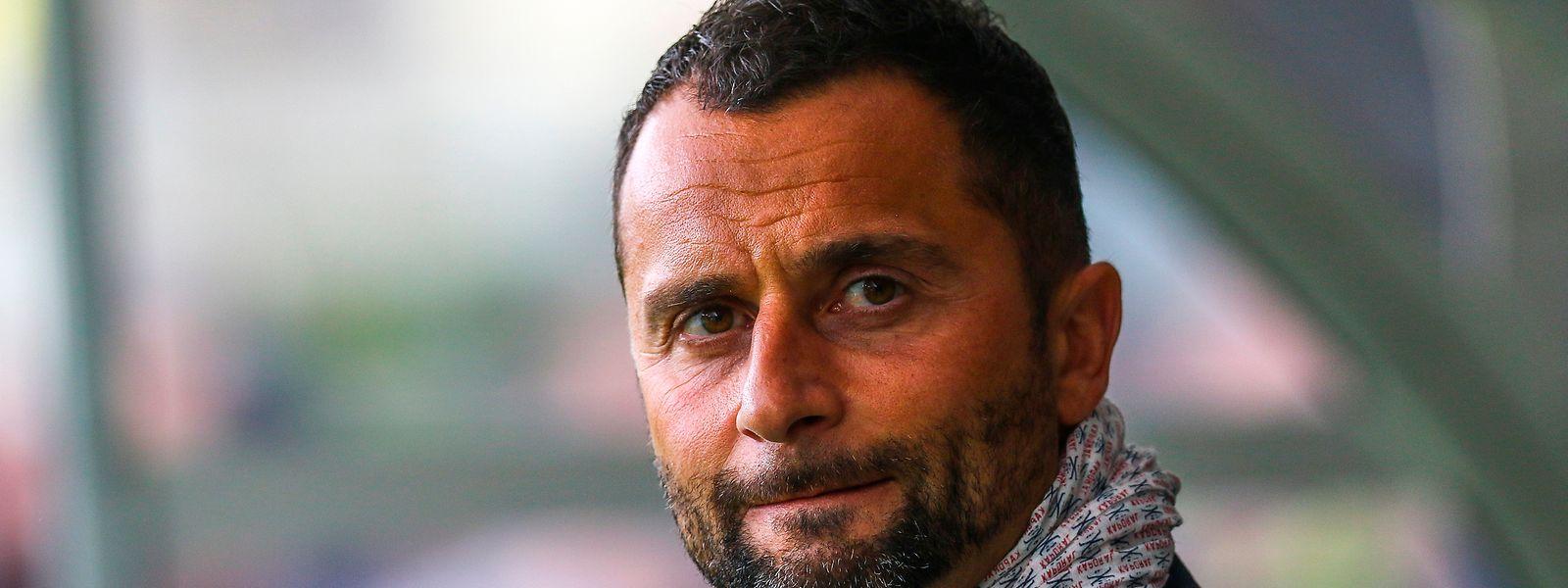 Paolo Amodio will den FC Déifferdeng 03 wieder nach vorne bringen.