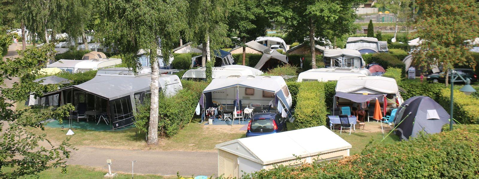 Besonders angenehm bei glühender Hitze: Das Campingareal bietet viele schattige Plätze.