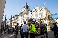 Lokales, Brand, Sickerbrand, Stromausfall, Chambre des Deputés, Foto: Lex Kleren/Luxemburger Wort