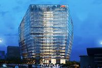 Das neue ArcelorMittal-Hauptquartier wird entlang der Avenue J.F. Kennedy und neben dem Europäischen Kongresszentrum in Kirchberg entstehen.