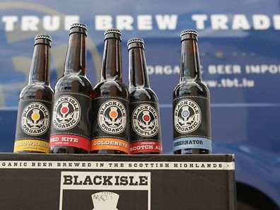 Black Isle Brewing beers now available in Luxembourg