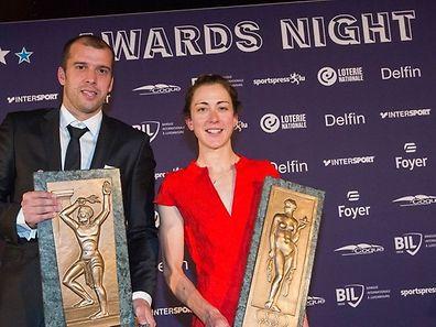 Gilles Muller e Christine Majerus repetitam o primeiro lugar do anoi passado