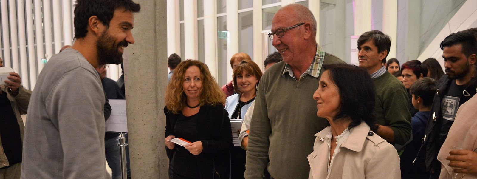 Miguel Araújo diz que ficou surpreendido com o carinho do público do Luxemburgo