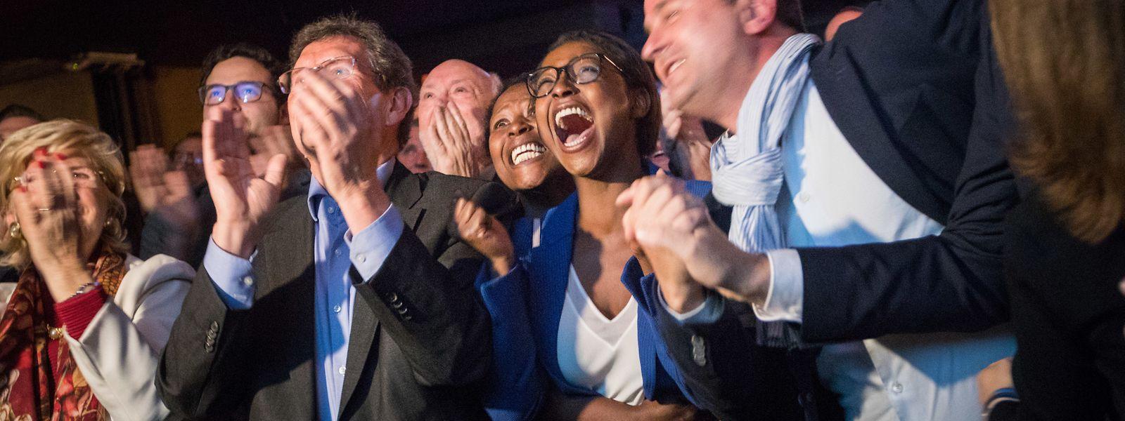 Die Liberalen waren angesichts des guten Resultats ganz aus dem Häuschen.