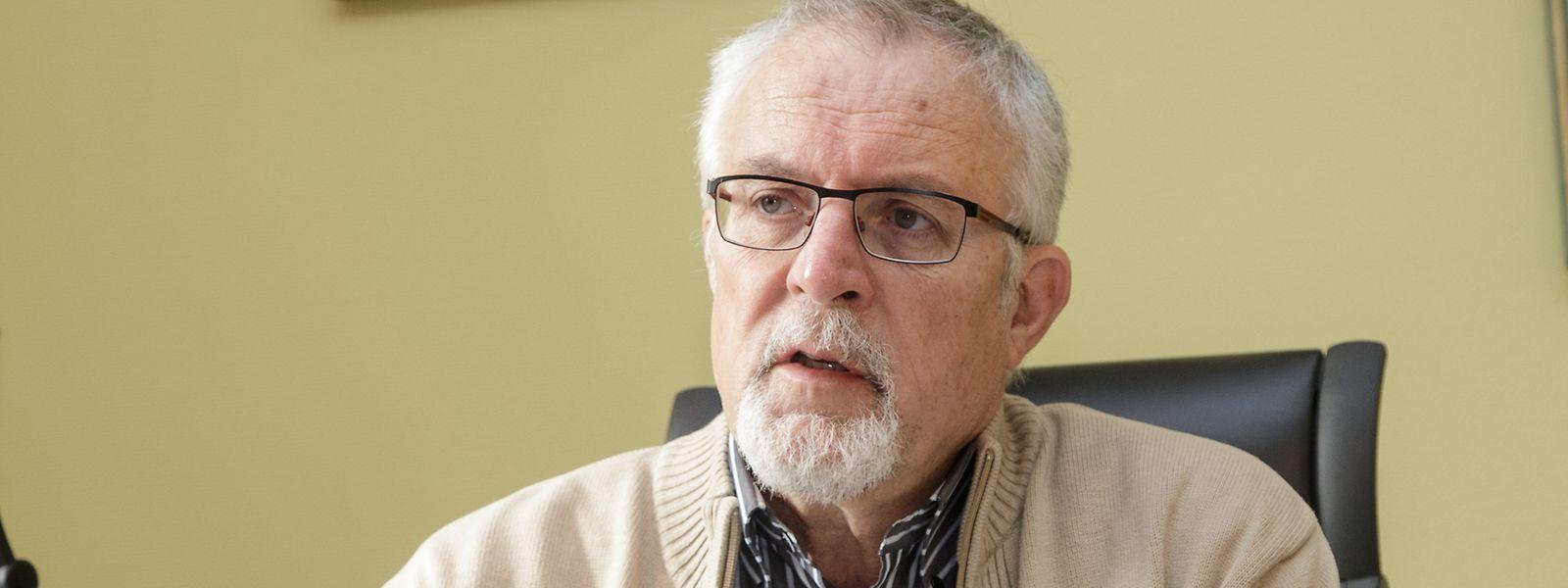 Ab heute nicht mehr CSV-Mitglied: der Bürgermeister von Bissen Jos Schummer.
