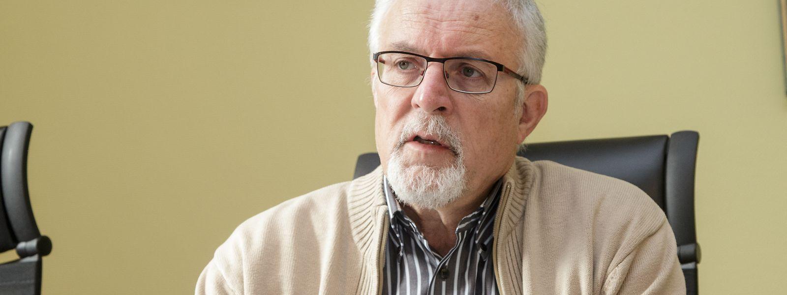 Der scheidende Bürgermeister von Bissen, Jos Schummer.