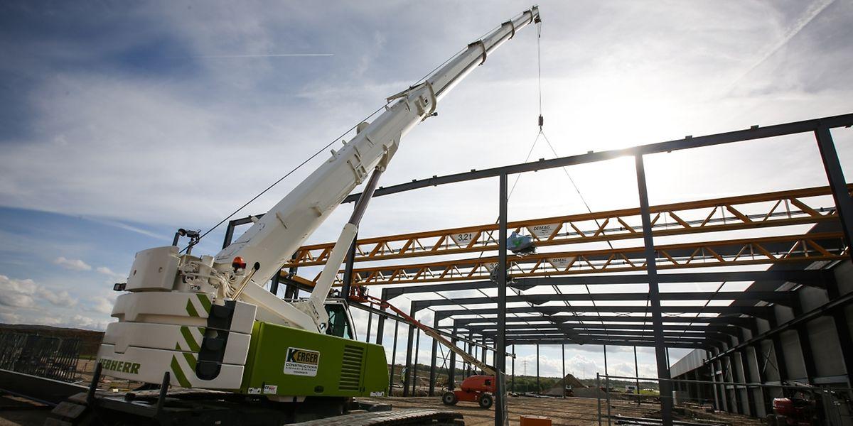 Bis Juni 2018 sollen die Arbeiten auf dem 8,7 Hektar großen Areal abgeschlossen sein.