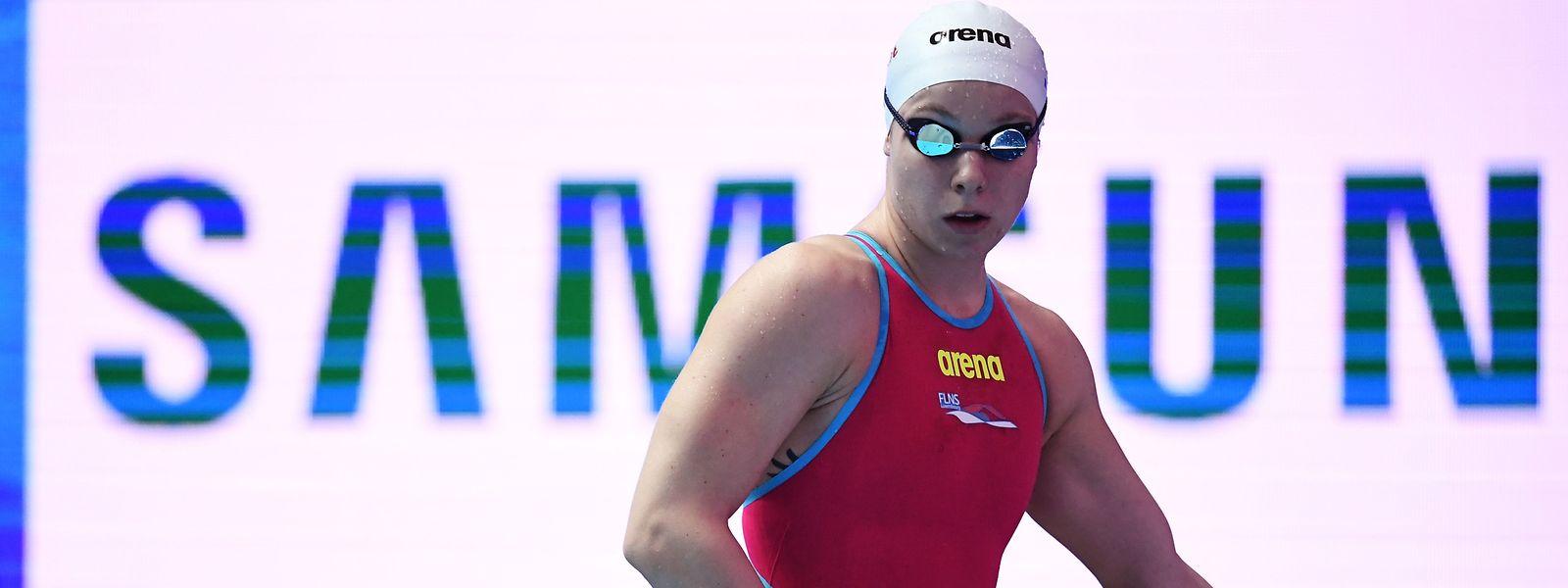 Julie Meynen hat sich noch nicht für Olympia qualifiziert.