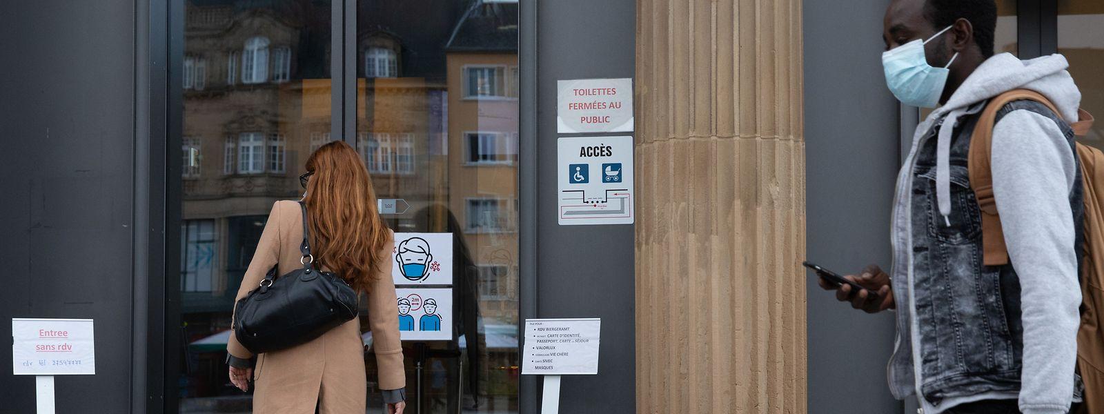 Von heute an werden Bürger ohne Termin im Escher Rathaus nicht mehr empfangen.