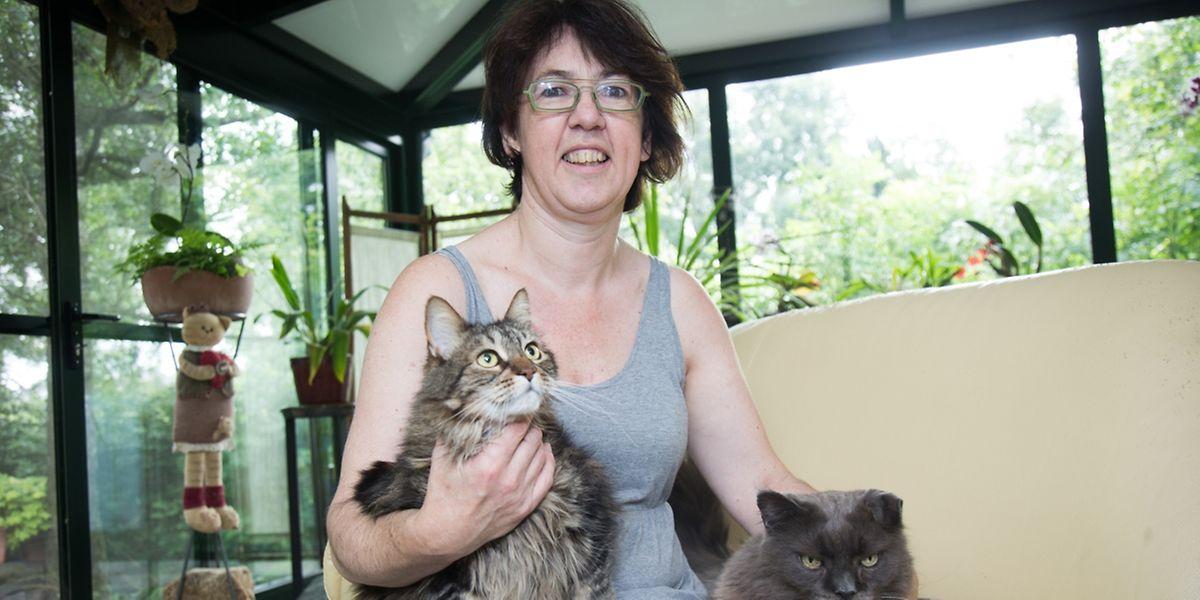 Sylvie Denize-Rausch ist seit 26 Jahren Katzenhalterin.