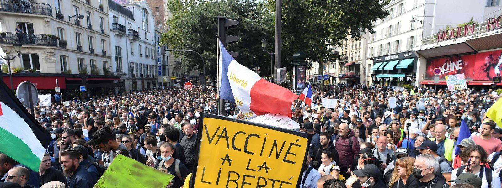 Die erneuten Proteste könnten für den französischen Präsidenten Emmanuel Macron Probleme bedeuten.
