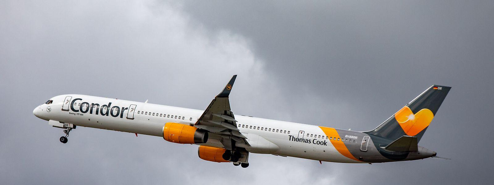 Eine Maschine der Fluggesellschaft Condor.