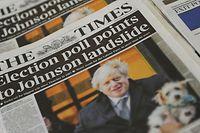 Boris Johnson ist der strahlende Gewinner der vorgezogenen Neuwahlen im Vereinigten Königreich.