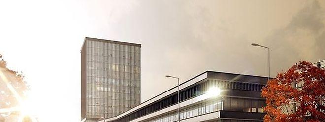 O novo edifício do BEI vai ser construído na avenida Konrad Adenauer, ao lado da sua actual e moderna estrutura