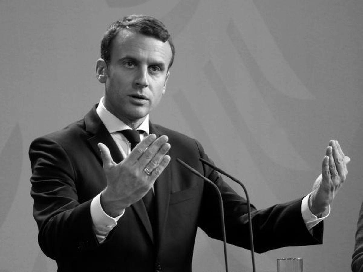 'Disruptive': Macron's favourite word (Shutterstock)
