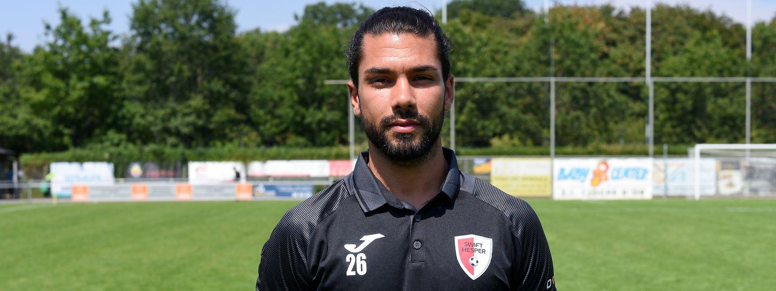 Joël Pedro wird das Hesperinger Trikot nur noch bis zum Saisonende tragen.
