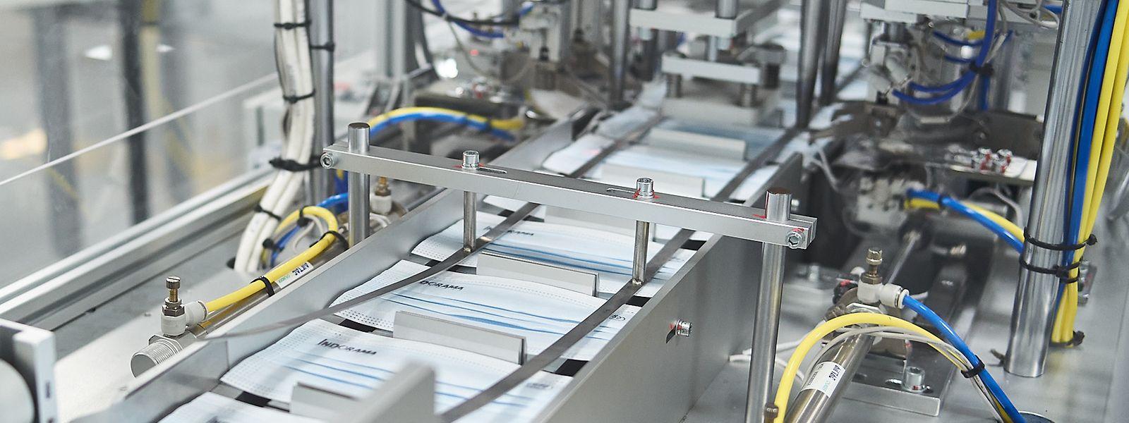 Die neue Produktionslinie wurde in Steinfort aufgebaut, ist am Standort der Firma von den anderen Aktivitäten getrennt.