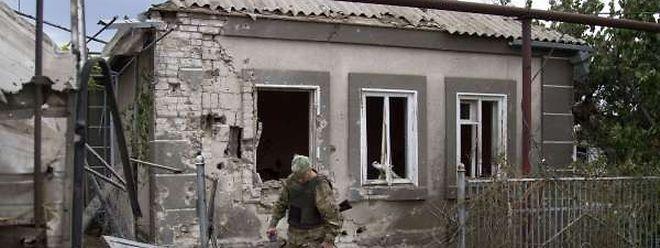 Auch in der Gegend von Mariupol kam es zu Auseinandersetzungen.
