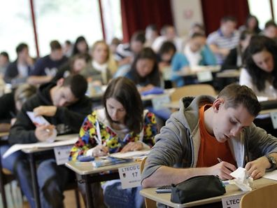 Of those sitting the exams, just over half (56.7 percent) are girls