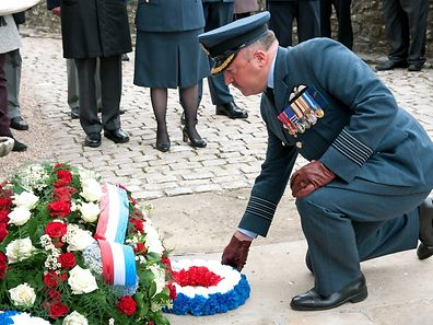 Royal Air Forces Association, commemoration day at Koerich. / Foto: Alain PIRON
