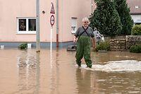Lokales,Hocvhwasser,Überschwemmung Steinheim.Foto: Gerry Huberty/Luxemburger Wort