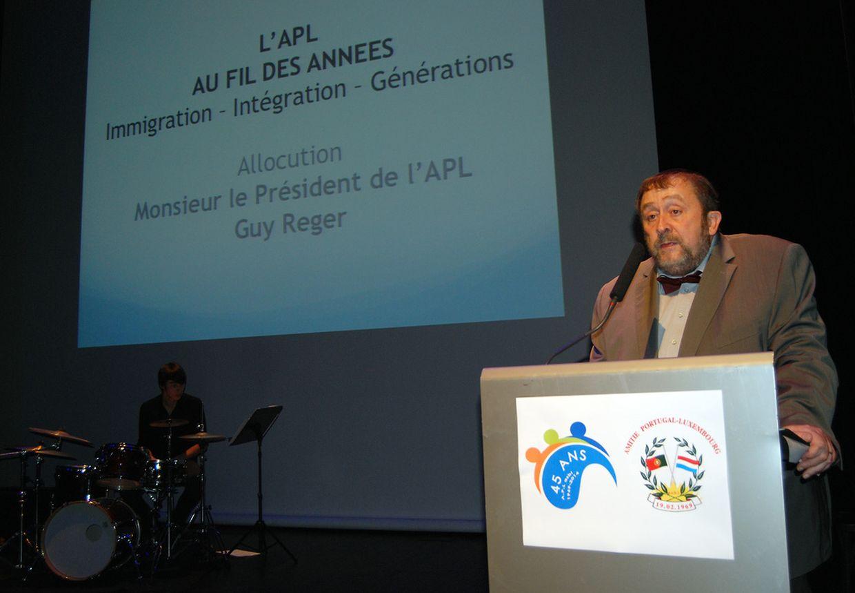 Guy Reger é o presidente da APL