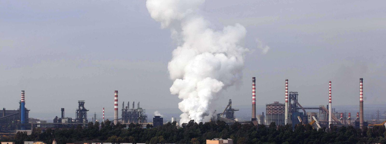 Für Europas größtes Stahlwerk bei Tarent hatte ArcelorMittal mehrere andere Werke aufgegeben, unter anderem das in Düdelingen.