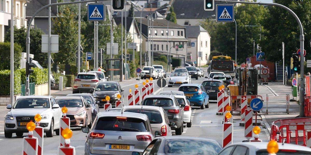 Wer durch Hesperingen fährt, muss viel Geduld aufbringen.