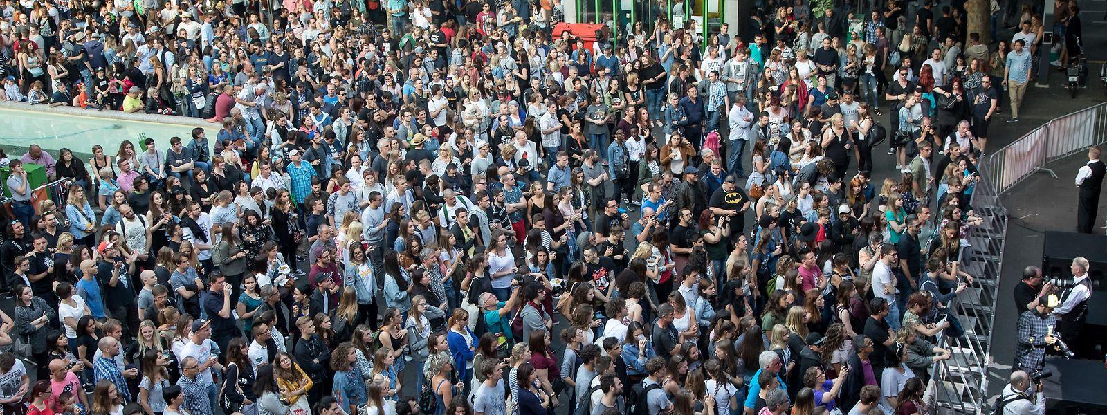 2017 hatten um die 20.000 Musikfreunde an der Düdelinger Fête de la musique teilgenommen. Spielt das Wetter mit, sollen es am 16. Juni wieder ähnlich viele werden.
