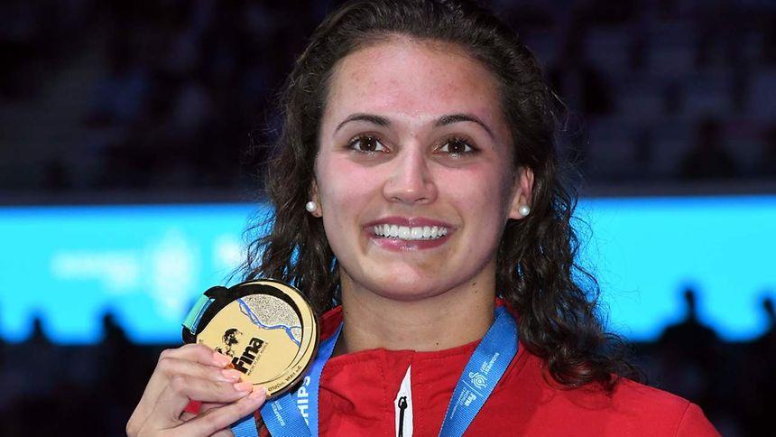 Kylie masse recordwoman du monde en 100 mètres dos
