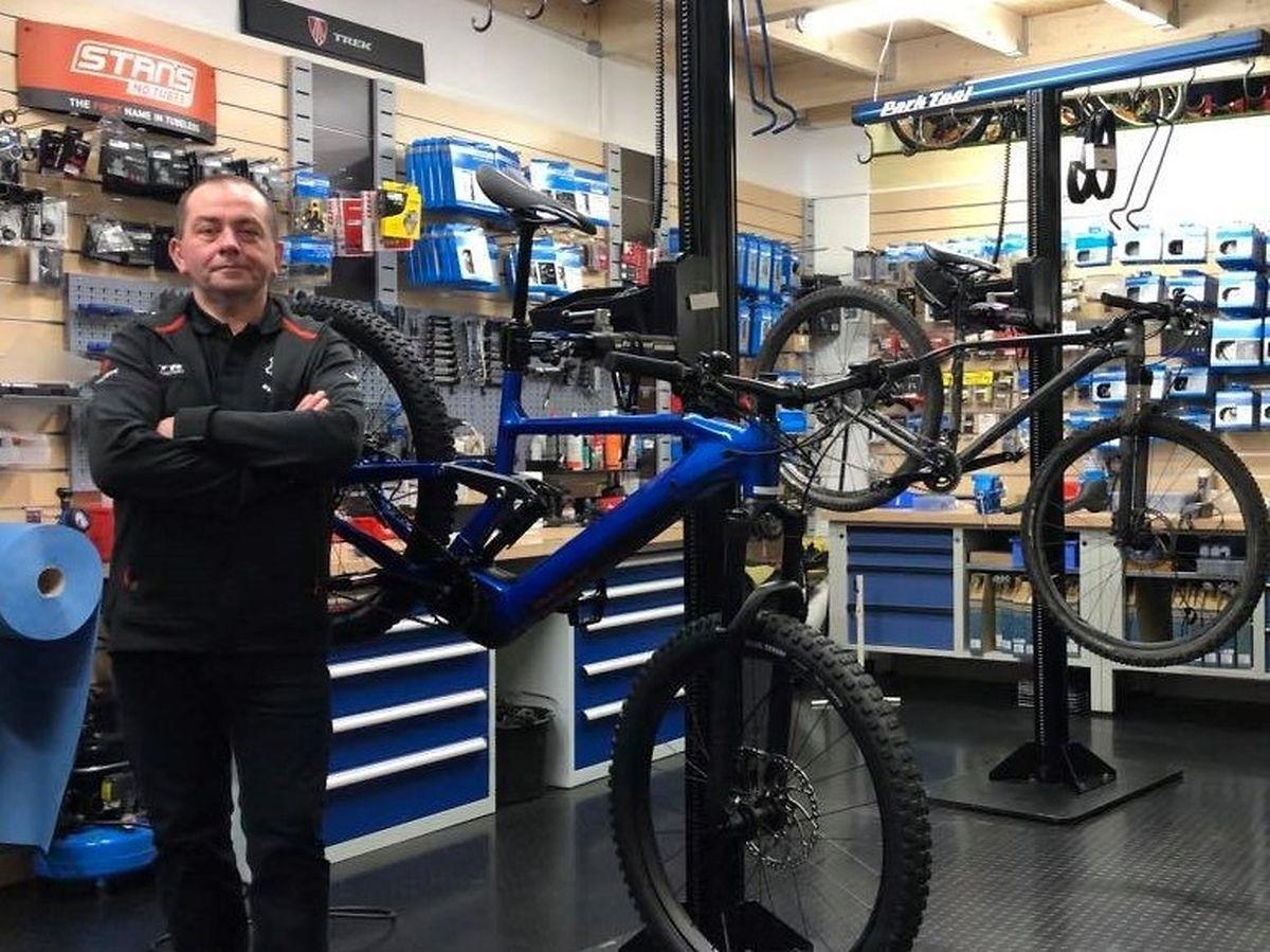 Didier Lauer ist seit fast 30 Jahren Fahrradhändler.
