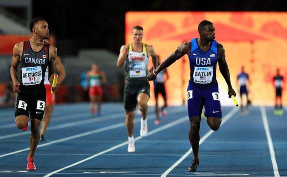 De Grasse termine 5e du 100 m à Doha